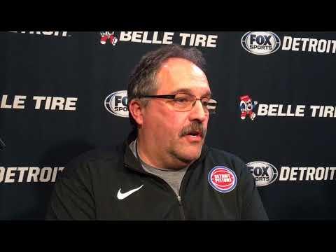 Pistons' Stan Van Gundy reacts to Zeke Upshaw's death