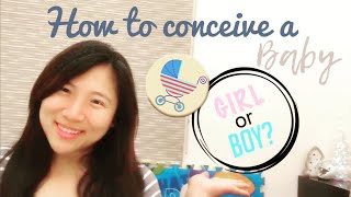 How to successfully conceive a baby girl / baby boy ?