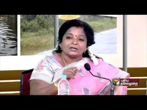 Tamilisai Soundarajan speaks in Multi-party Round Table Conference on Rains and Flood