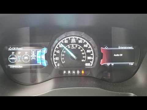 Ford Ranger Lariat 4WD FX4 Off-Road  Acceleration test