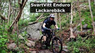 Svartvitt Enduro Lackarebäck 2019