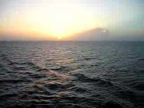 Sunset in the Florida Straits-June 16, 2006