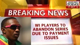 West Indies cricketers likely to abandon Indian series due to payment issues