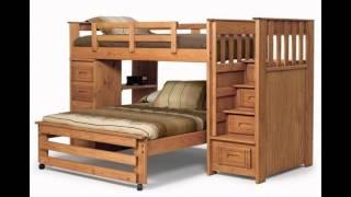 видео Как сделать двухъярусную кровать своими руками