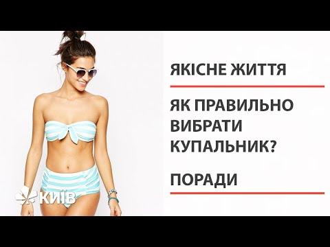 Як підібрати купальник за типом фігури