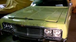 FOR SALE : 1973 Chrysler New Yorker Brougham cold start