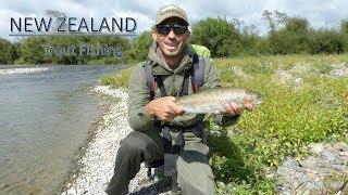 Pêche de la truite en Nouvelle Zélande // Trout fishing in NEW ZEALAND