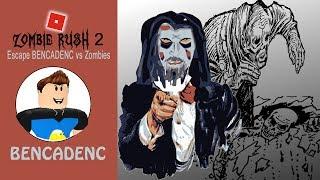 Zombie Rush #2 | ROBLOX Adventure | BENCADENC vs Zombies