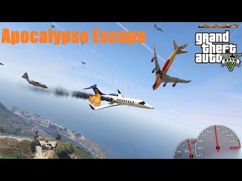 GTA V Mods: Apocalypse Escape (60FPS)