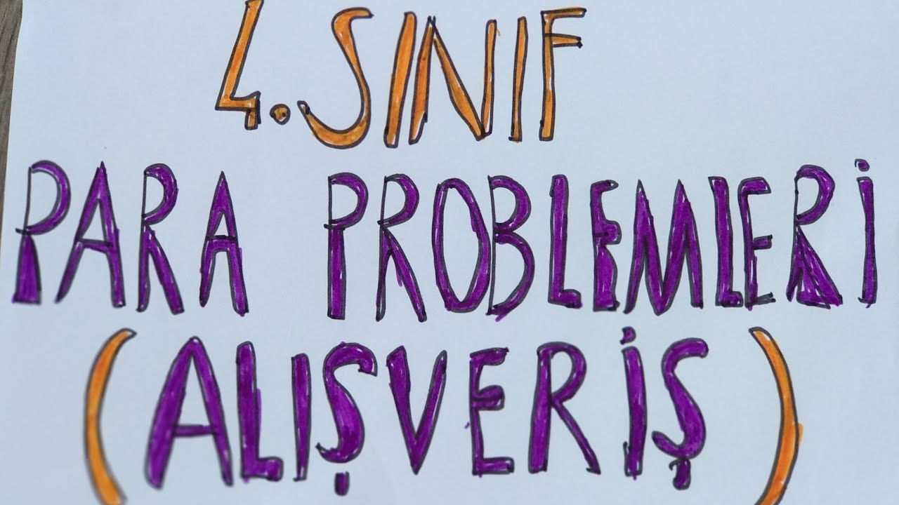 3. ve 4. Sınıf Eksiklik- Fazlalık Kat Problemleri