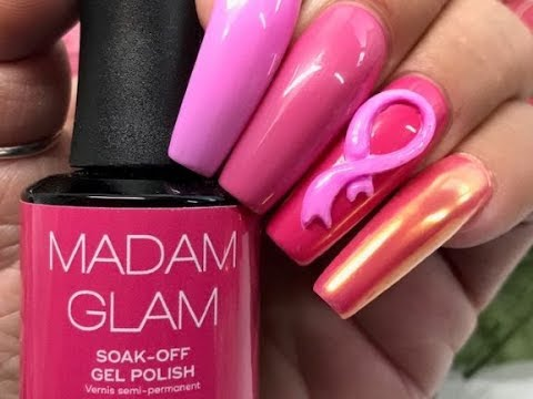 Madam Glam Join Pink/ Breast Cancer Alliance / Pink Ribbon & Swatching