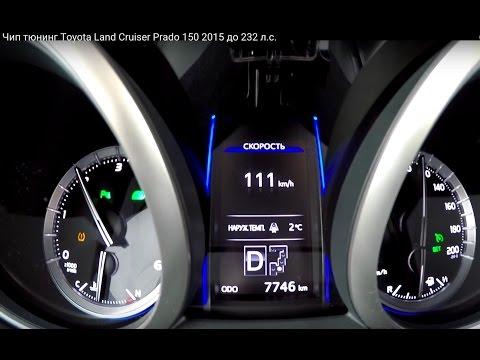 чип тюнинг Toyota Прадо 150