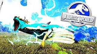 KITSUNE NUEVO HIBRIDO SECRETO DE DRAGON DE ROCA JURASSIC WORLD 2 Ark ABlistering