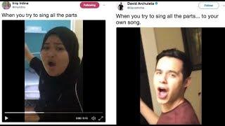 Video Viral Video Lucu Wanita Cover Lagu Crush, Sehingga Mendapat Perhatian David Archuleta. download MP3, 3GP, MP4, WEBM, AVI, FLV Mei 2018