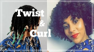 super defined twist out on natural hair   issavia merkus