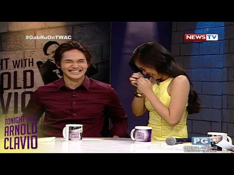 Tonight with Arnold Clavio: Gabbi Garcia, nadulas sa interview ni Arnold Clavio