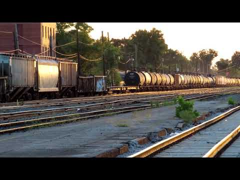 CSX Manifest Freight - Huntington WV - Sep 2019