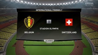 Belgium vs Switzerland | UEFA Nations League | 2018/19 | FIFA 19 | Gameplay