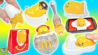 GUDETAMA Happy Meal Toys! Gudetama Blind Bag Haul! Doctor Squish