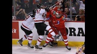 МЧМ-2019: Брагин и хоккеисты сборной России - о провокациях канадцев