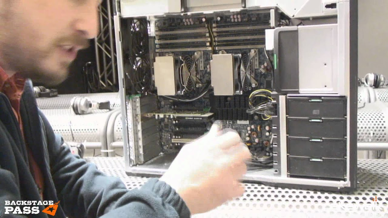 Back Stage Pass: NAMM 2012 - HP Z800 Teardown