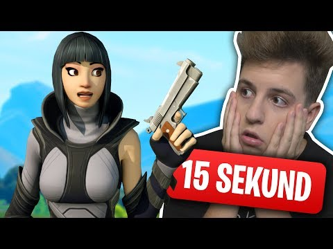 15 SEKUND FORTNITE CHALLENGE! JACOB