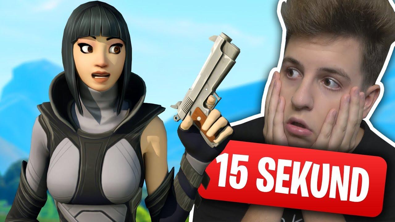 15 SEKUND FORTNITE CHALLENGE! JACOB