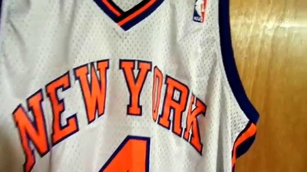 Nate Robinson New York Knicks Home Swingman Jersey Review - YouTube 2db699877