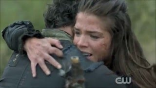 The 100 -Octavia and Bellamy - Safe and Soud