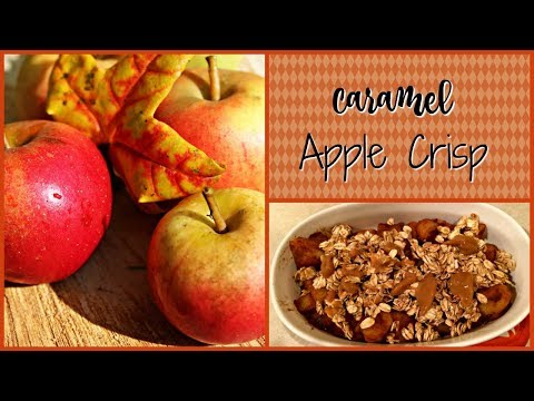 fall-cooking-series-2017-|-quick-caramel-apple-crisp-|-3-smart-points!