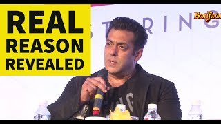 REVEALED: The Reason Why Salman Khan is not getting married?
