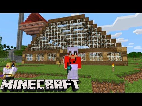 Minecraft equipe survival o celeiro moderno renovado for Minecraft moderno