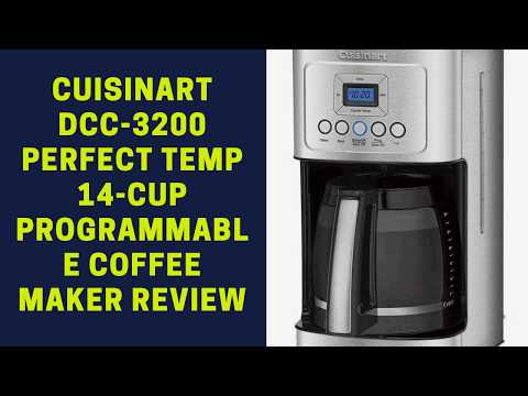 Cuisinart DCC 3200 Perfect Temp 14 Cup Programmable Coffee Maker Review