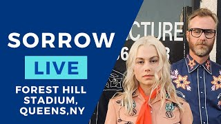 """Phoebe Bridgers & The National - """"SORROW"""" live (throwback to 2018) (credits to Larry Rulz FORE)"""