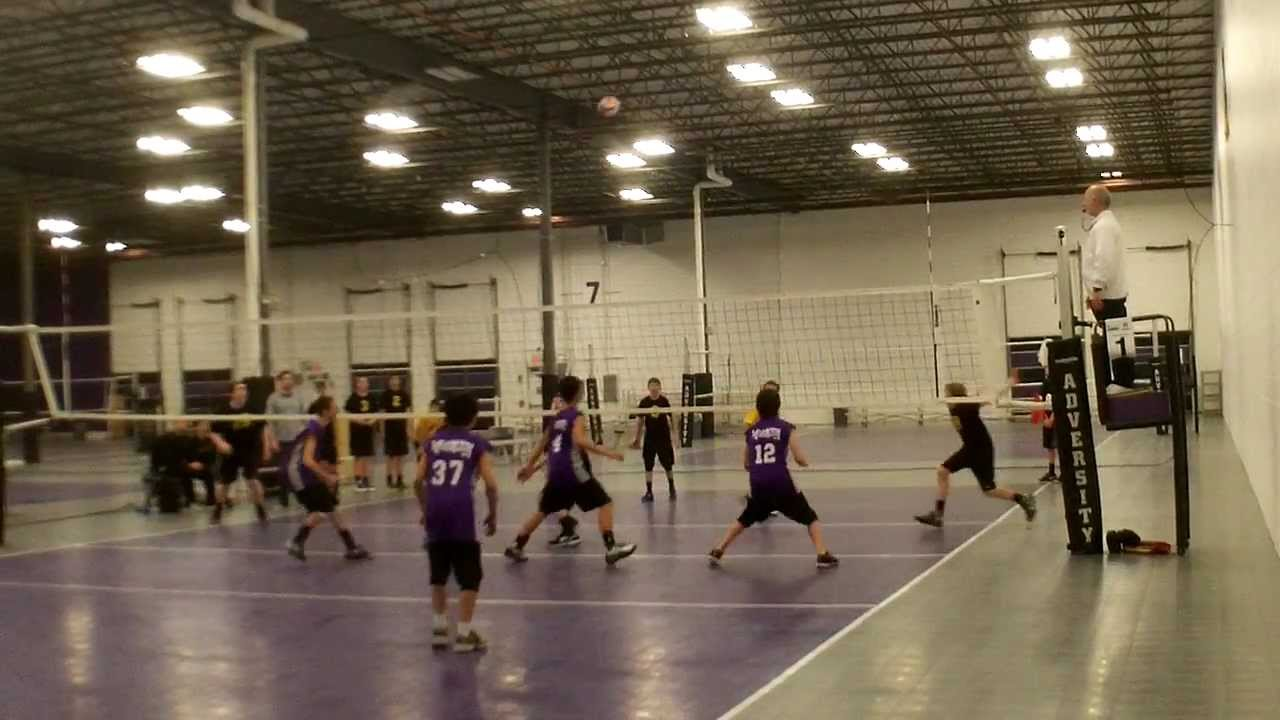 Boys Volleyball Play Of The Day Adversity 14 Vs Ultimate 14 Gold During 2013 Championship Youtube
