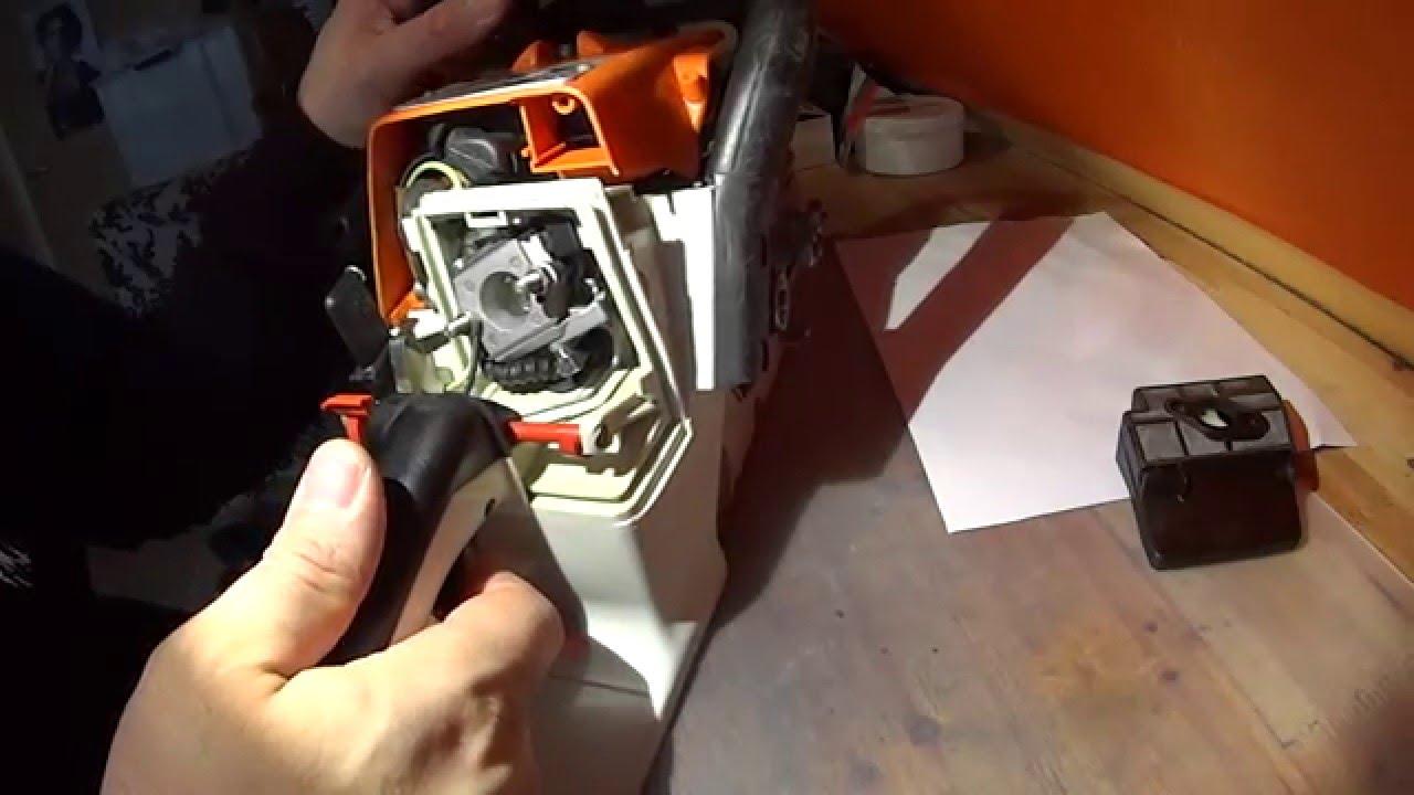 Stihl 026 / 024 Vergaser Überholen und Einbauen