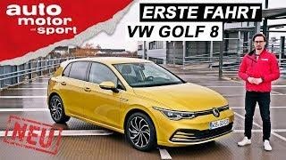 Erste Fahrt im neuen VW Golf 8: Was kann der Mild-Hybrid? - Fahrbericht/Review | auto motor & sport