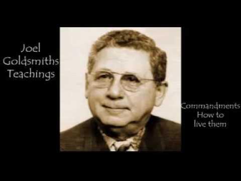 Joel S Goldsmith   Commandments How to live them