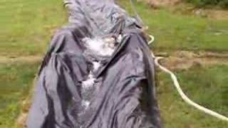World's Longest Home Made Redneck 500' Slip-n-Slide