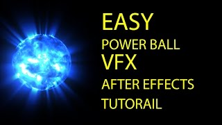 Easy Power Ball VFX After Effects Tutorial