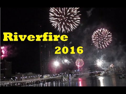 Sunsuper Riverfire 2016 Full Firework Show POV (Brisbane River Festival) 24 September 2016