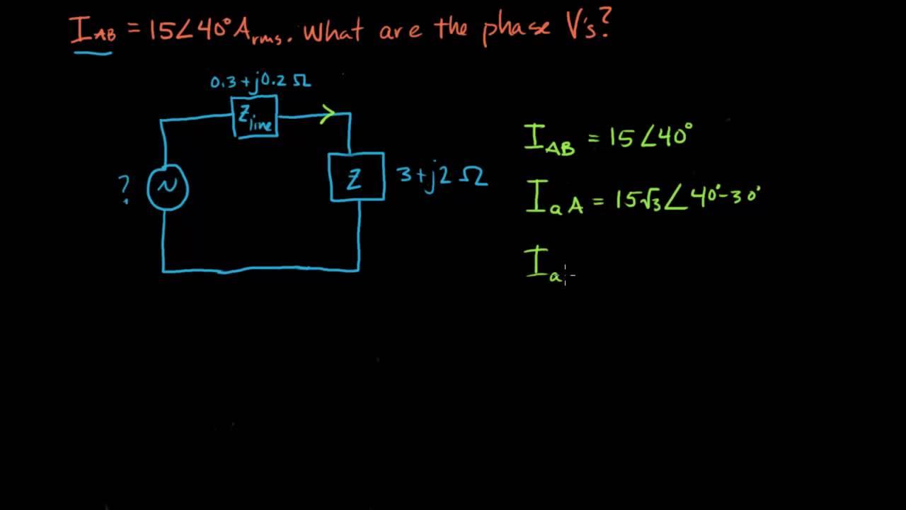 Three Phase Circuits Youtube 3 Circuit Diagram