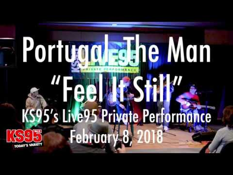 "Portugal. The Man - ""Feel It Still"" (KS95 Live95 Private Performance)"