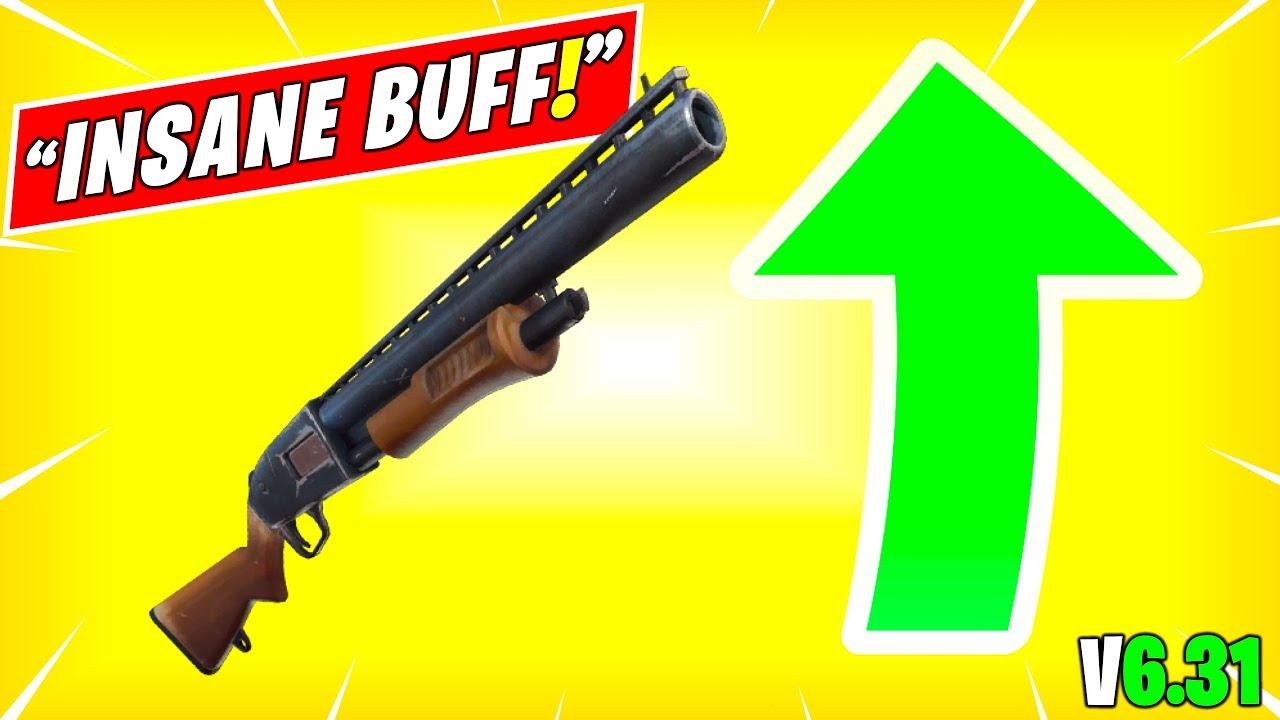 News Fortnite Shotguns Buff Insane Buff Rip 9 Damage New Shotgun