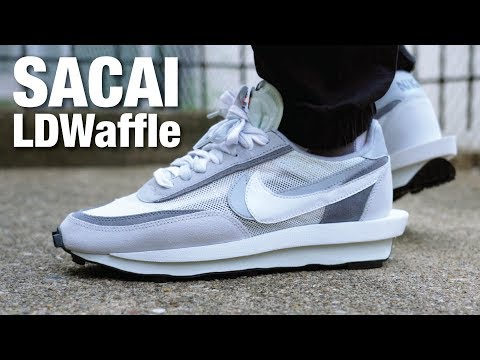 Nike x SACAI LDWaffle Summit White REVIEW & On Feet