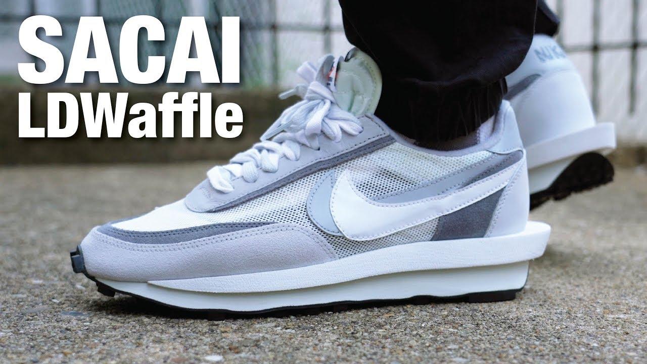 Nike x SACAI LDWaffle Summit White REVIEW & On Feet