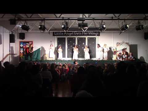 """Year 1&2 Christmas 2017 Performance: """"Little Angel Gets Her Wings"""""""