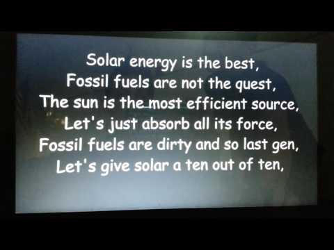 DCMST Solar/Wind Energy Rap (Mrs.Mansoor)