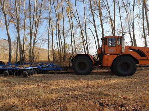 Новый КИРОВЕЦ обрабатывает почву!(основная обработка)