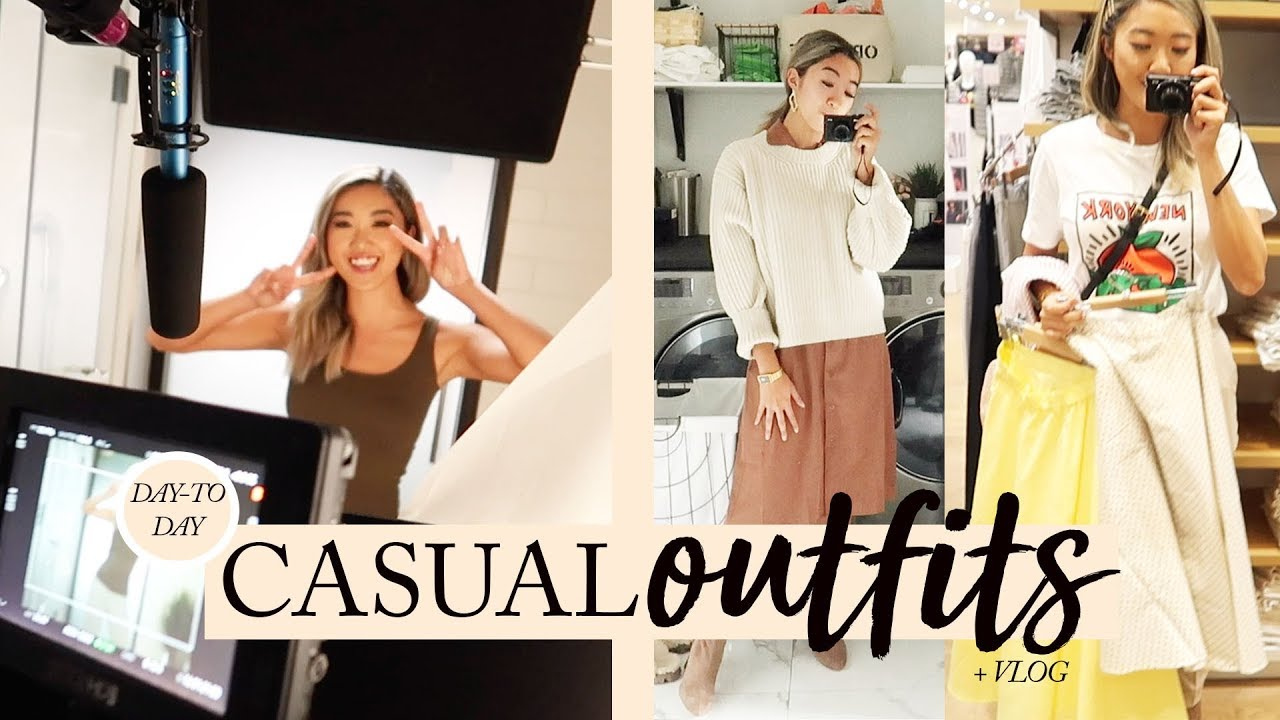 CASUAL SPRING OUTFITS: What I Wore This Week + Vlog 6